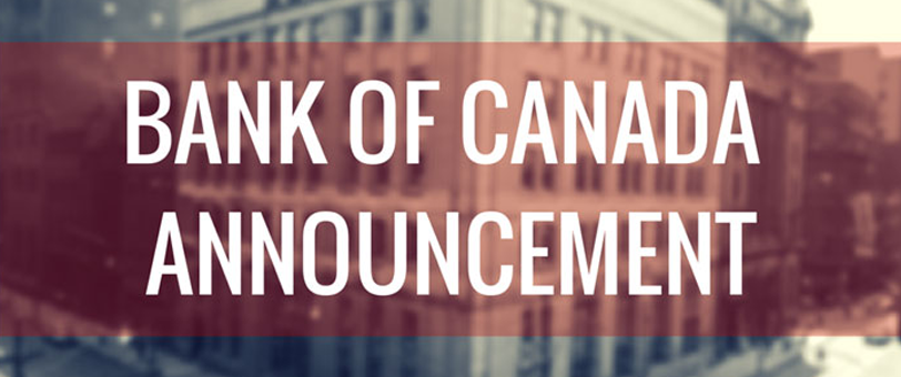 Ngân Hàng  Trung Ương Canada Giữ Nguyên Lãi Suất