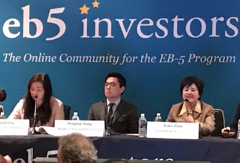 Đội chuyên viên tư vấn Kornova tham gia hội nghị EB5 chuyên ngành hàng đầu tại Las Vegas
