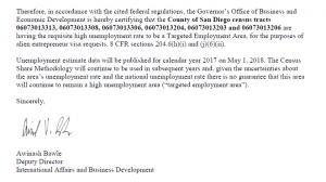 Dự án Homefed nhận cập nhật phê chuẩn gia hạn khu vực ưu tiên thu hút đầu tư TEA