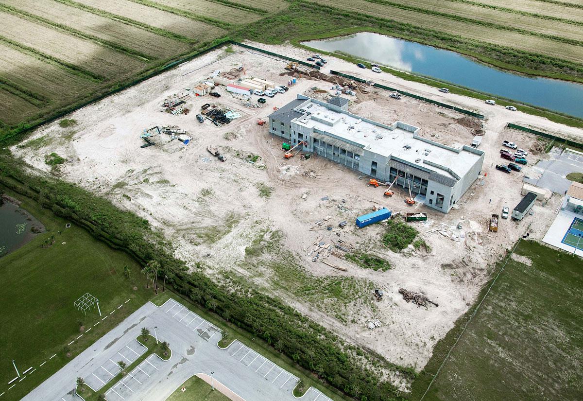 Cập Nhật Tiến Độ Xây Dựng Dự Án Trường Bán Công - Giai Đoạn 11 – Boynton Beach, Florida
