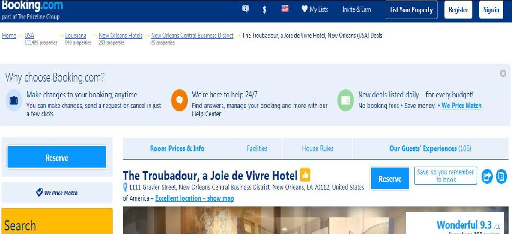 Khách sạn dự án JDV nhận đánh giá cao về dịch vụ từ các website du lịch hàng đầu