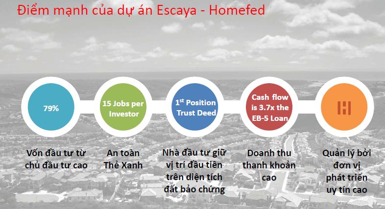 Dự án EB5 Homefed - Khu đô thị EScaya tổng khai trương 10.6.2017