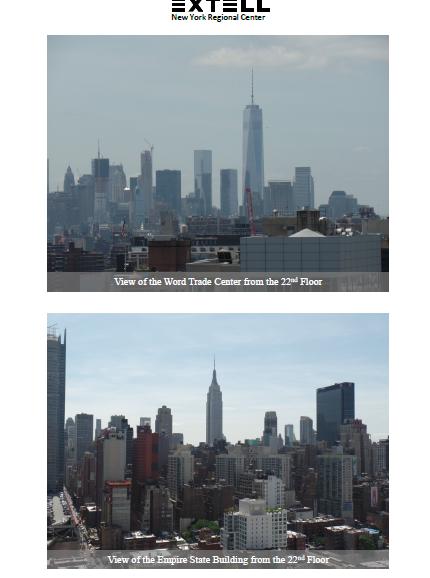 Tiến Độ Dự Án Tòa Tháp Thương Mại 555 Đại Lộ Số 10 New York (Extell) Tháng 7/2015