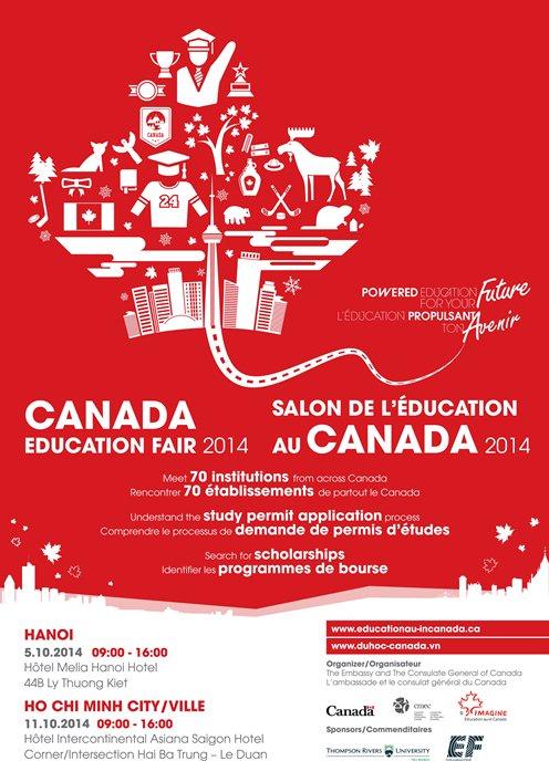 Tuần Lễ Giáo Dục Canada Thường Niên Lần Thứ 6, 2014