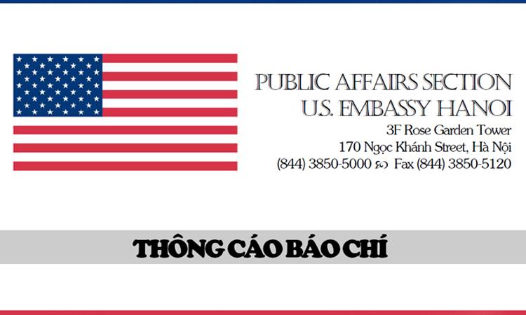 Tổng Thống Mỹ Thông Báo Ý Định Về Đề Cử Đại Sứ Đặc Mệnh Toàn Quyền Của Hoa Kỳ Tại Việt Nam