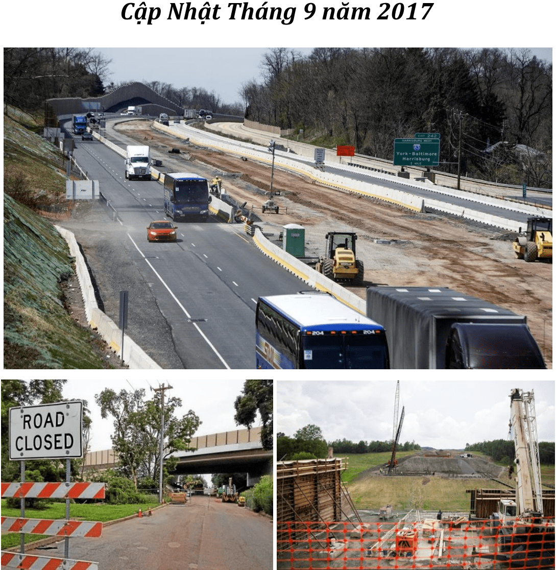 Cập nhật Dự án EB5  PTC II: Highway Capital Tháng 9/2017