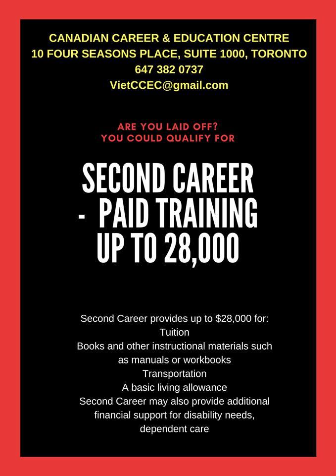 Chương trình trợ giúp học phí đào tạo nghề cho người tìm việc
