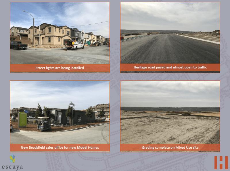 Cập nhật xây dựng dự án EB5 Escaya- Homefed 29.11.2017