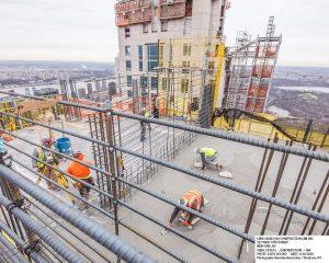 Cập nhật xây dựng dự án Central Park Tower tháng 03.2018