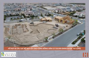 Cập nhật xây dựng dự án khu đô thị ESCAYA 20.06.2018