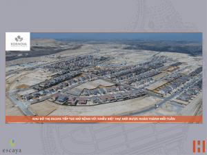 Cập nhật xây dựng dự án khu đô thị ESCAYA 29.06.2018