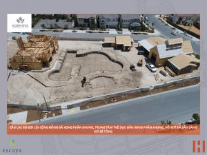 Cập nhật xây dựng dự án khu đô thị ESCAYA 29.06.2018 1