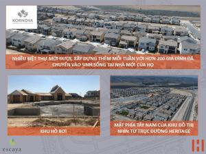 Dự Án Khu Đô Thị Escaya: Cập Nhật Tiến Trình Xây Dựng 30/07/2018