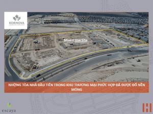 Dự Án Khu Đô Thị Escaya: Cập Nhật Tiến Trình Xây Dựng 30/07/2018 1