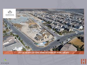 Dự Án Khu Đô Thị Escaya: Cập Nhật Tiến Trình Xây Dựng 31.08.2018