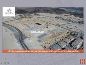 Dự Án Khu Đô Thị Escaya: Cập Nhật Tiến Trình Xây Dựng 31/08/2018