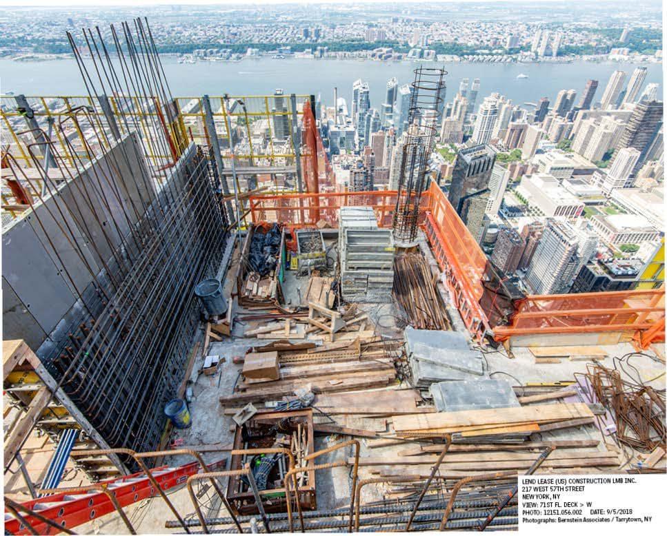 Cập Nhật Xây Dựng Dự Án Central Park Tower Tháng 08/2018