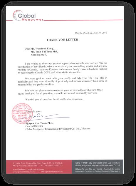 Nguyen Kim Tuan – General Director, Global Manpower International Investments Co. Ltd., Vietnam