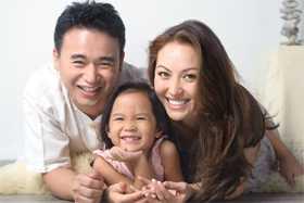 Gia đình chị Thảo