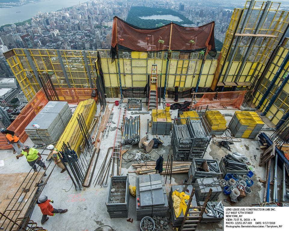 Cập nhật xây dựng dự án Central Park Tower tháng 09/2018 2