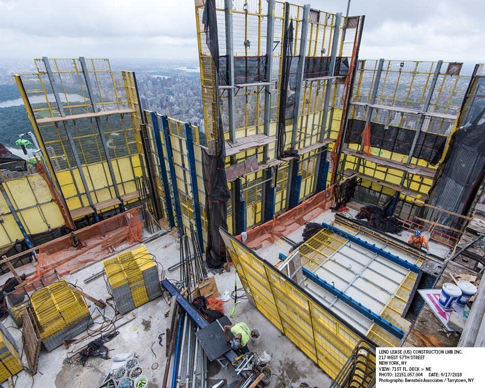 Cập nhật xây dựng dự án Central Park Tower tháng 09/2018 3