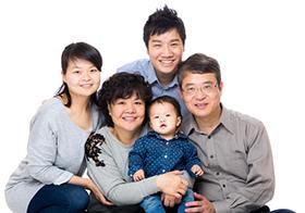 Anh VVH và gia đình