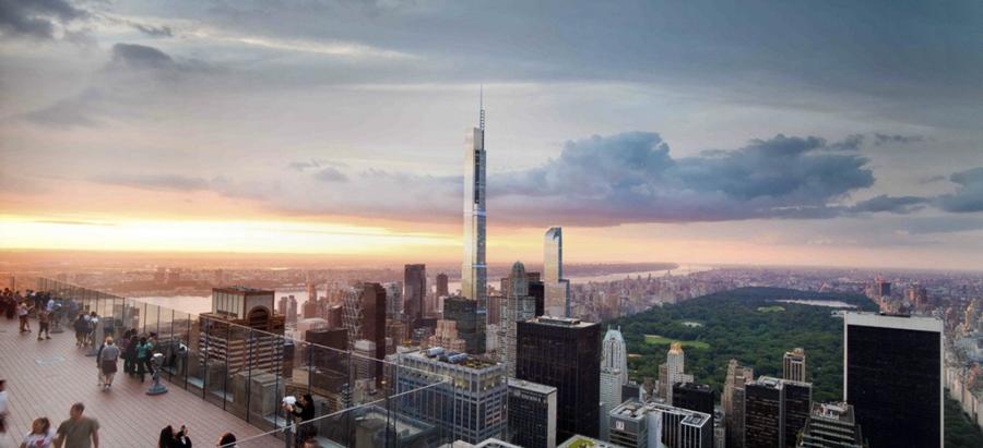 Cập Nhật Dự Án Central Park Tower – Extell Tháng 11/2018