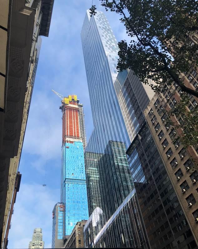 Cập Nhật Thành Tích Trung Tâm Khu Vực Extell & Dự Án Central Park Tower