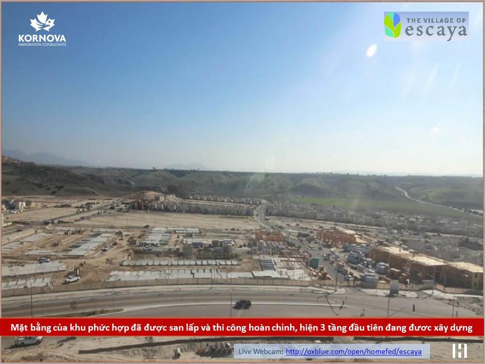Dự Án Khu Đô Thị Escaya: Cập Nhật Tiến Trình Xây Dựng Tháng 01 Năm 2019