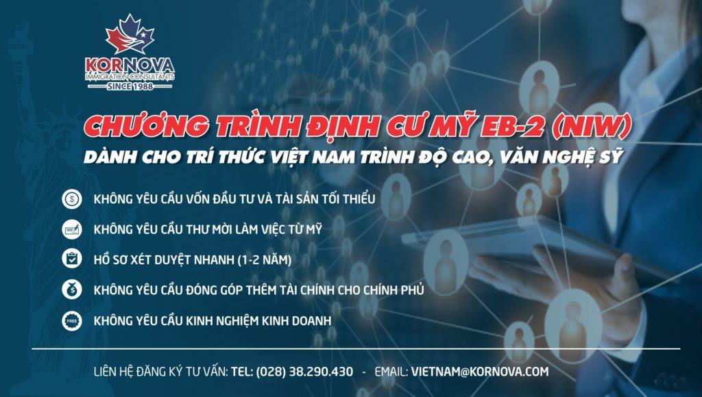 Khách Hàng Kornova Việt Nam Thành Công Với Chương Trình EB-2 (NIW)