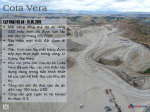 Dự Án Cota Vera - Cập Nhật Tiến Trình Xây Dựng Tháng 05/2019