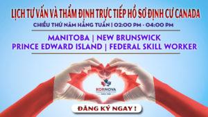 Manitoba Phát Hành 450 Thư Mời Cho Các Ứng Viên Dòng Lao Động Trình Độ Cao Và Sinh Viên Quốc Tế