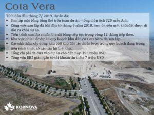 Dự Án Cota Vera - Cập Nhật Tiến Trình Xây Dựng Tháng 07/ 2019