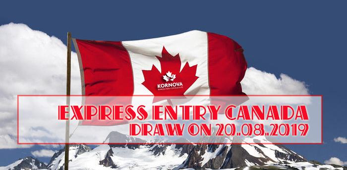 Express Entry Ngày 20 tháng 8 Phát Hành 3.600 Thư Mời Đăng Ký Thường Trú Canada
