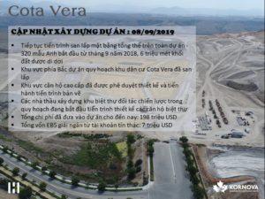 Dự Án Cota Vera - Cập Nhật Tiến Trình Xây Dựng Tháng 08/ 2019