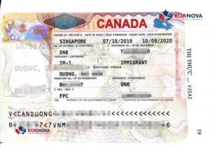 Chúc Mừng Khách Hàng Kornova Nhận Visa Định Cư Canada Trong Tháng 10/ 2019