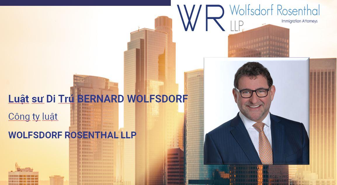 Ông Bernard Wolfsdorf Được Chọn Là Nhà Lãnh Đạo Tư Duy Năm 2018