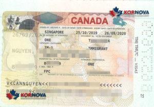 Các Khách Hàng Kornova Liên Tiếp Nhận Được Visa Định Cư Canada Dịp Cuối Năm 2019