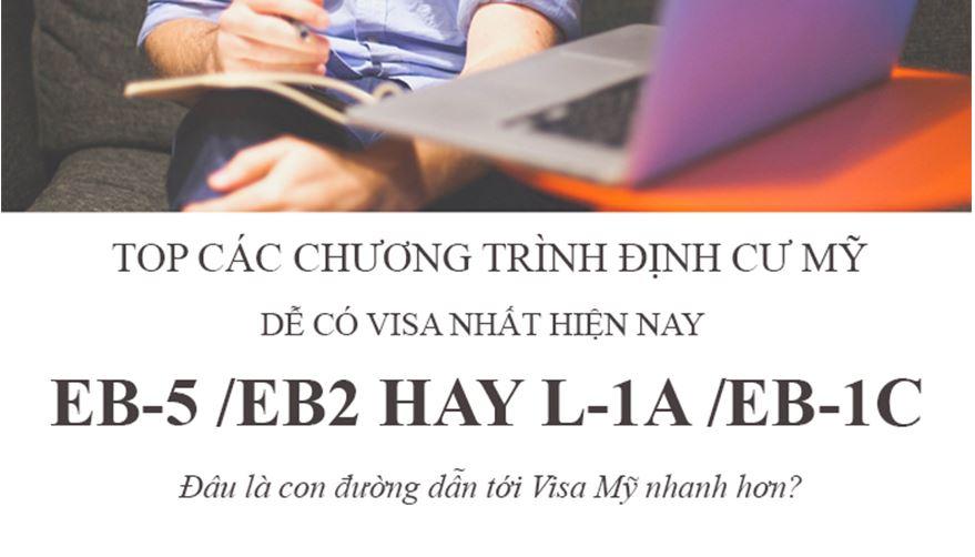Top Các Chương Trình Định Cư Mỹ Dễ Có Visa Nhất Hiện Nay