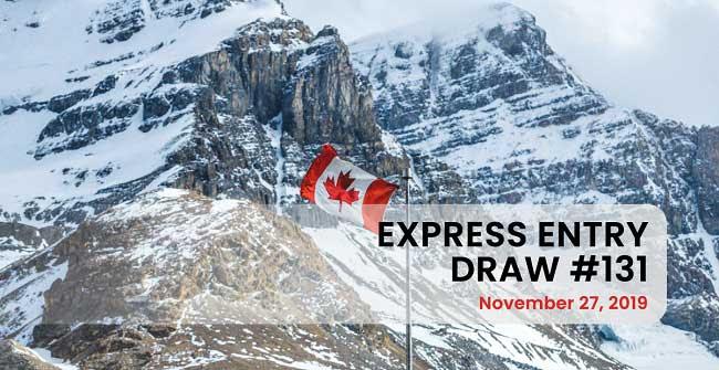 Điểm Rút Thăm Của Chương Trình Express Entry Canada Giảm Trong Lần Rút Vào Cuối Tháng 11/ 2019