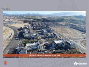 Dự Án Khu Đô Thị Escaya Cập Nhật Tiến Trình Xây Dựng Tháng 01/2020