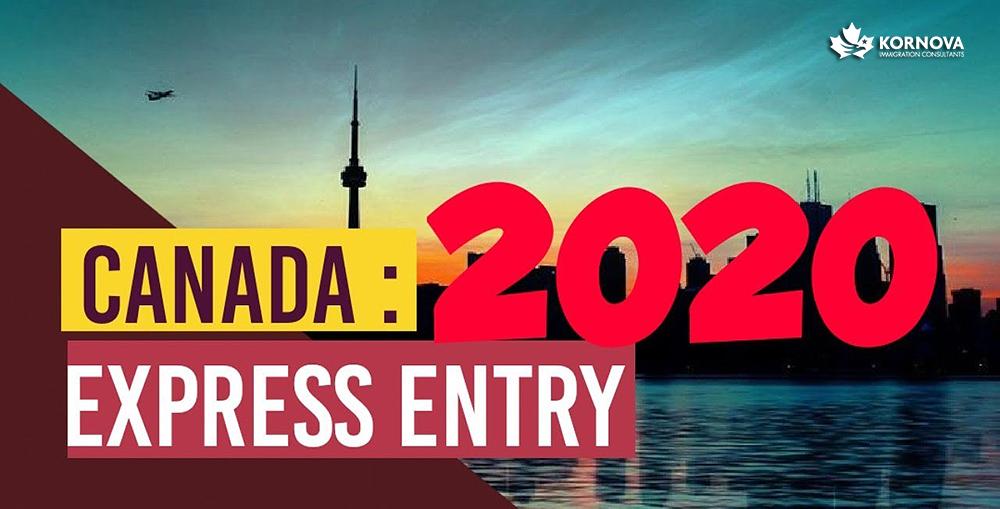 Tổng Kết Chương Trình Express Entry Quý 1 Năm 2020