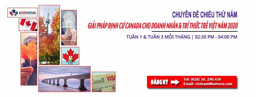 Đợt Rút Thăm Express Entry Canada Ngày 04/03/2020