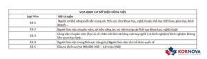 Các Loại Visa Định Cư Mỹ Người Việt Cần Biết Trong Năm 2020
