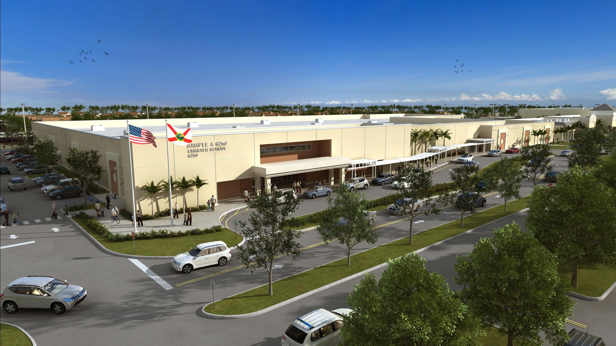 Dự Án Xây Dựng Trường Bán Công Florida Giai Đoạn 7 Chính Thức Tiếp Nhận Nhà Đầu Tư EB5