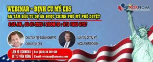 """Hội Thảo Trực Tuyến """"Đầu Tư Mỹ EB5 - Những Thay Đổi Về Luật Di Trú Mỹ Hiện Tại"""""""