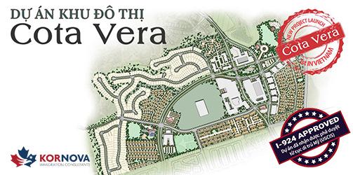 Dự Án Khu Đô Thị Cota Vera Nhận Phê Duyệt Hồ Sơ Dự Án I-924 Từ USCIS