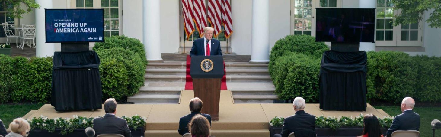 Tổng Thống Trump Gia Hạn Sắc Lệnh Tạm Ngưng Nhập Cảnh Một Số Loại Visa Cho Đến Ngày 31/03/2021