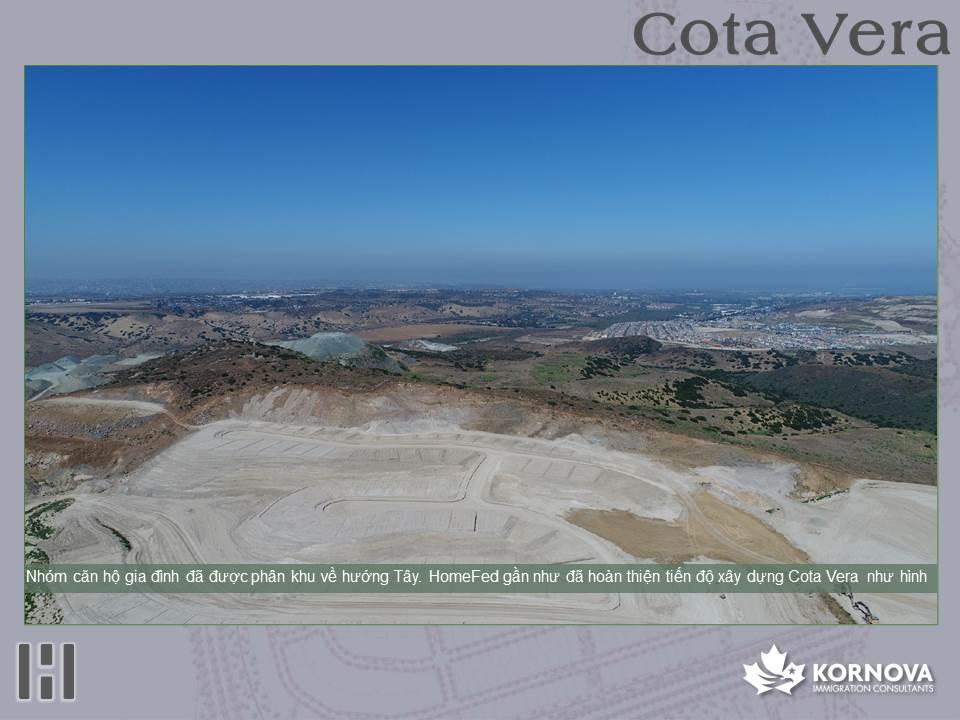 Dự Án Cota Vera - Cập Nhật Tiến Trình Xây Dựng Tháng 07/2020