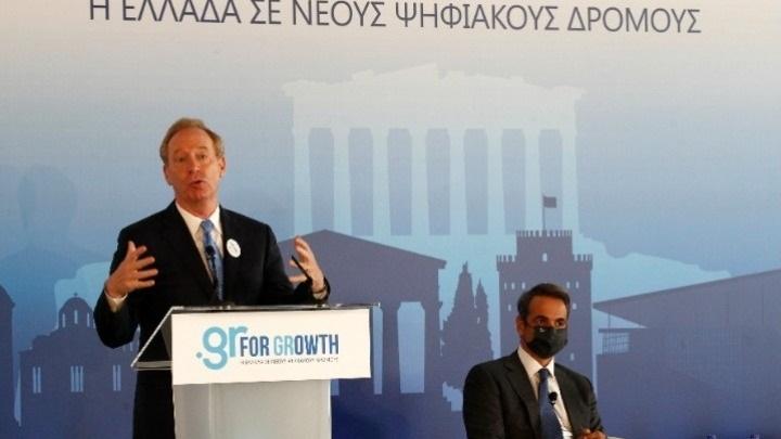 Hy Lạp Dự Kiến Nhận Khoản Đầu Tư Lên Đến 1 Tỷ EUR Từ Microsoft